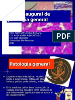 Clase 1 Inaugural de Patologia[1]