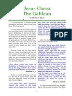 Jesus Galilean