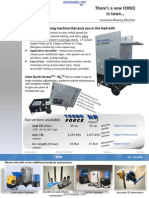 Intec Turbo Force HP3 Insulation Machine Brochure