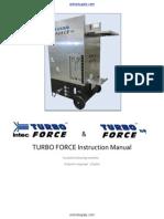 Intec Turbo Force Manual English