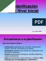 La Planificacion en El Nivel Inicial