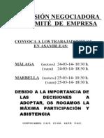 Cartel Asambleas 2014