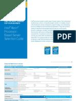 Xeon Intel Server Processor Comparison Guide