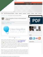5 Ideas Fotográficas Creativas Extremadamente SIMPLES _ Blog del Fotógrafo.pdf