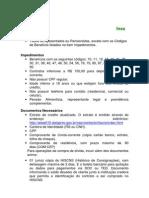 Roteiro Banco BV ExtraCredito