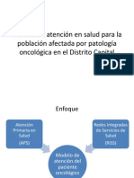 Modelo de atención en salud para la población
