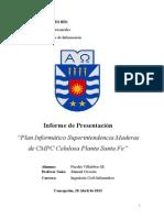 Proyecto de Titulo Cmpc 2012