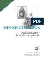 Episiotomia ACOG