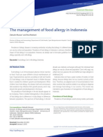 The Management of Food Allergy in Indonesia