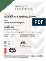 i So Certificate 2011 June
