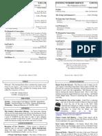 Cedar Bulletin Page - 03-23-14
