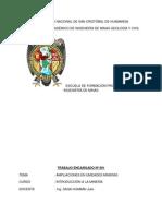 Informe Ampliacion de Unidades Mineras