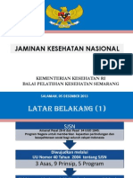 Jaminan Kesehatan Nasional-2014