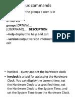 Lab Commands(Linux)