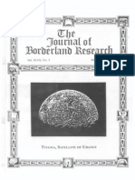 Journal of Borderland Research - Vol XLVII, No 3, May-June 1991