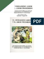 LIBRO- El Verdadero Amor y El Amor Prohibido