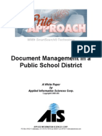 Document Management in a Public School District