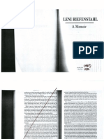 Leni Riefenstahl Autobiography Excerpt
