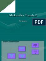 Pengantar Mekanika Tanah 2
