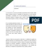 ENSAYO 2. FUNFAMENTOS  DE  COMINICACIÓN  EFECIVA