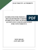 DPR Formulation Guideline