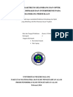Laporan Pembiasan, Difraksi, Interferensi (Ria)