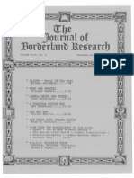 Journal of Borderland Research - Vol XLIV, No 6, November-December 1988