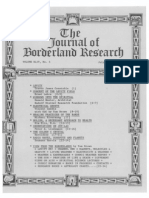 Journal of Borderland Research - Vol XLIV, No 4, July-August 1988