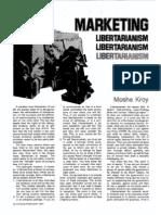 Libertarian Marketing Secrets, 1977
