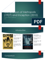 Comparison of Metropolis and Inception