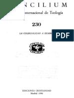 concilium 230 - la colegialidad a examen.pdf