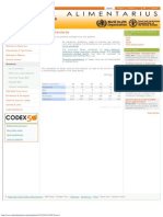 CODEX Alimentarius_ Standards