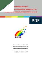 2009 03 ICA Member Directory