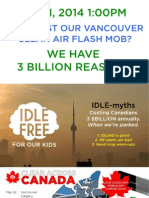 Vancouver May 1 CLEAN AIR FLASH MOB Site