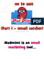 How to Use Madmimi