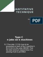 Quantitative Technique Assignment