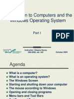 Windows Operating System Part 1