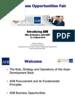 1 Plenary - Introducing ADB by Ignatius Santoso 11Mar2014 Final