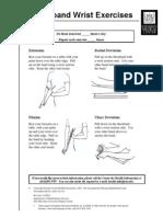 Theraband Wrist Exercises