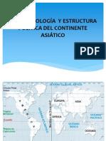 GEOMORFOLOGÍA  Y ESTRUCTURA POLITICA DEL CONTINENTE ASIÁTICO