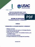 Modulo 1 Psicologia  Educativa PDF