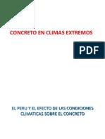 CONCRETO CLIMAS EXTREMOS