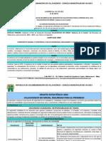 Plan de Desarrollo Villavicencio