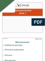 Aula 1 - Macroeconomia