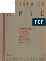 Revista de arte N° 1, año I, Jun.-Jul.1934