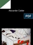 Clase 17 Calder