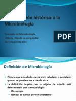 Historia de La Microbiologia 2014