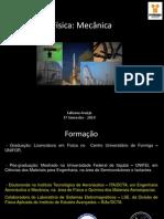 Apresentação 1 e 2 Fabiana - Física