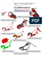 Mini Chopper Plans