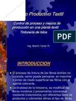 Proceso Productivo Textil San Ramon